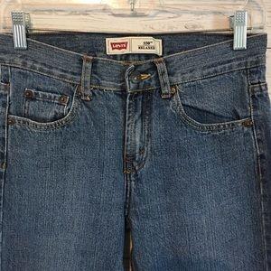 Levi's Bottoms - Levi's 550 Boys Straight Leg Jeans 14R